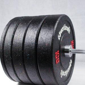 Bumperlevysarja rouhekumi, 100/150kg