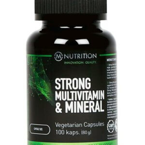 M-NUTRITION Strong Multivitamin & Mineral 100 kaps.