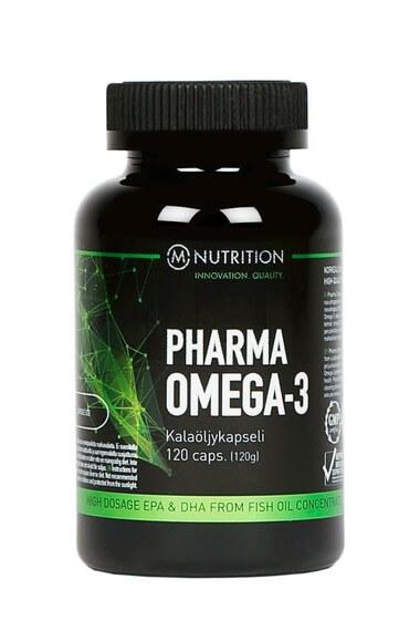 M-NUTRITION Pharma Omega-3, 120 kaps.