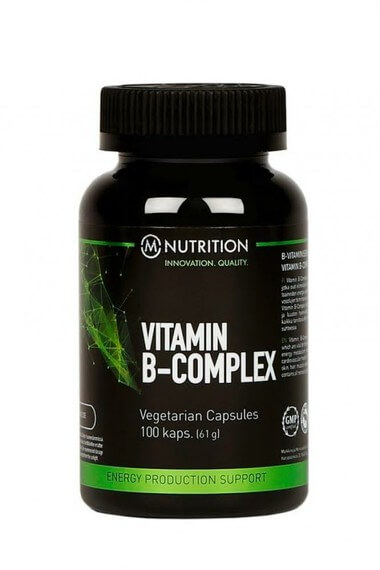 M-NUTRITION Vitamin B Complex, 100 kaps.