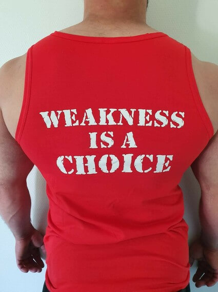 WEAKNESS IS A CHOICE, Hihaton