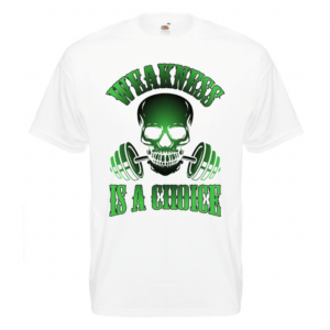 WEAKNESS IS A CHOICE, Summer Edition,T-paita unisex