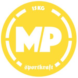 SportKraft Naisten yleistanko 550, Keltainen