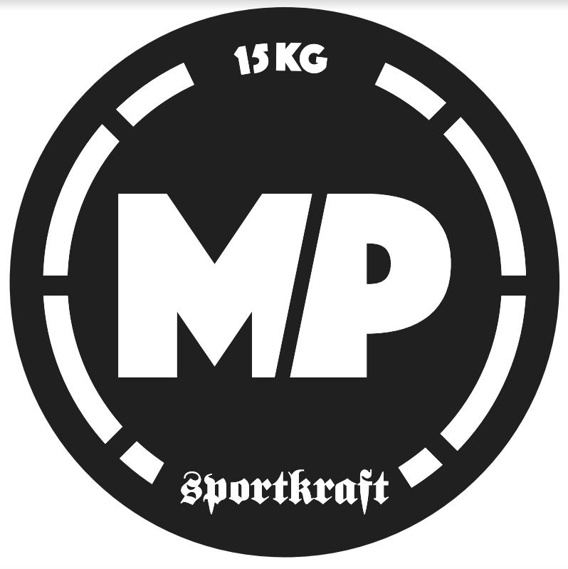 SportKraft Naisten yleistanko 550, musta