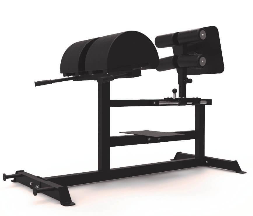 SportKraft Basic GHR / GHD ja selkäpenkki