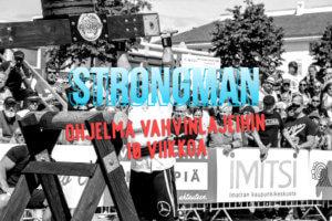Strongman - 10 viikon ohjelma vahvin lajeihin