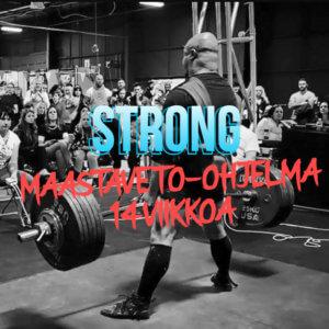Strong - Maastaveto-ohjelma, 14 viikkoa